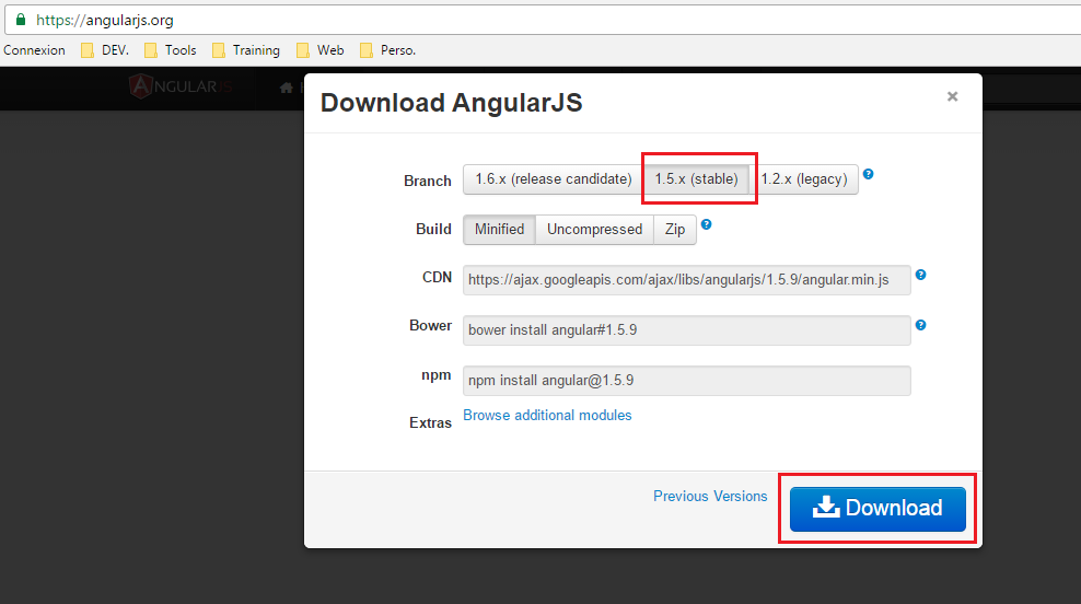 Step by Step to create a first angularjs app with visual studio