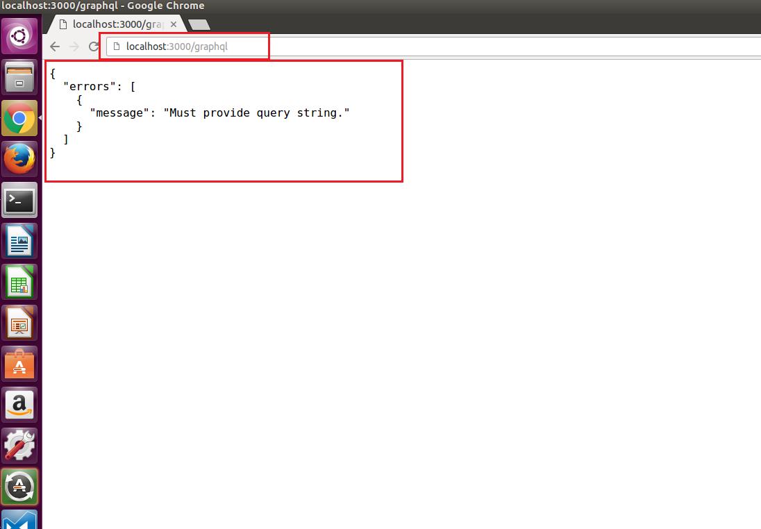 Build a simple Graph-QL Server with nodejs